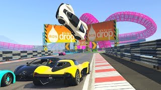 CRAZY SUPERCAR RACES! - GTA 5 Funny Moments #738