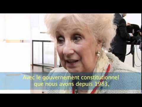 Convention contre les disparitions forcées - Estela Barnes de Carlotto (12.05.2012)