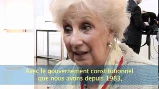 Convention contre les disparitions forcées - Estela Barnes de Carlotto (12.05.2012)