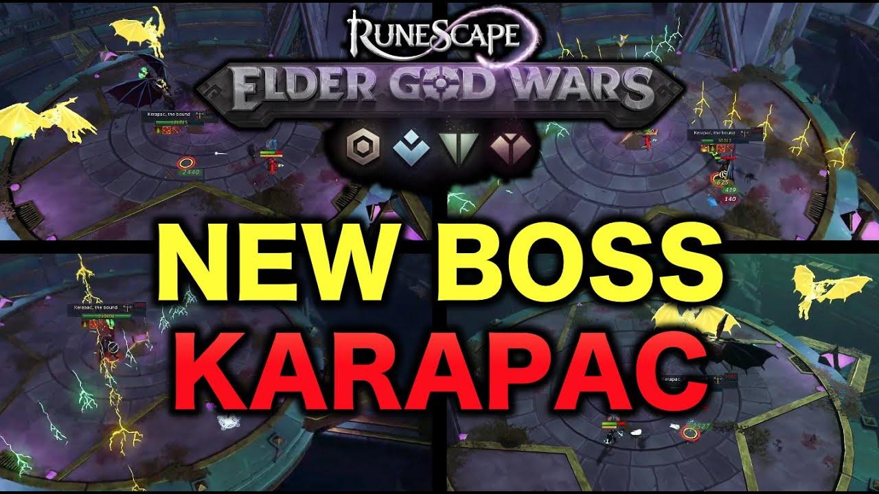 Learning The New Elder God Wars Boss Karapac!