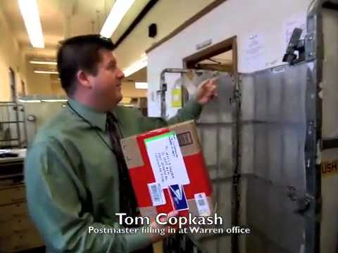Reporter tours Warren Post Office