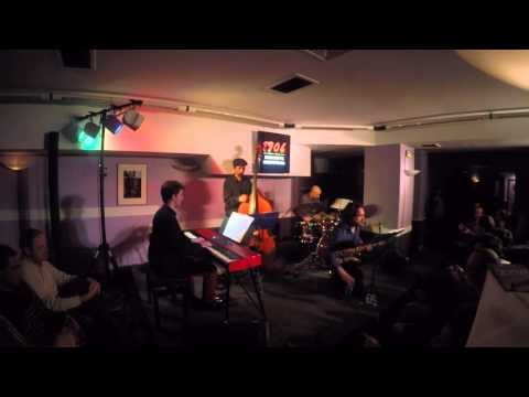 """Rob Garcia 4 at Bilbaina Jazz Club 4-7-16: """"Act Local"""" (drum solo) into """"Finding Love"""""""