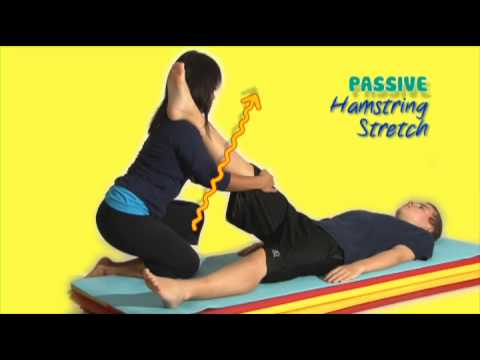 Stretch Out! Passive Hamstring Stretch - YouTube