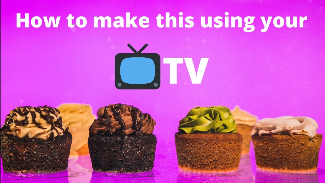 How to make a PROMOTIONAL video with a TV 📺