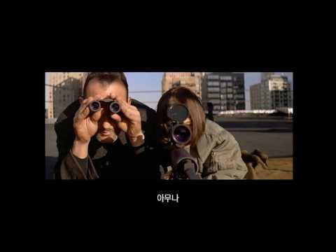 [ 한글 자막 ] 영화 레옹 명장면, 마틸다에게 총 쏘는 법을 가르쳐주는 레옹. [HD]