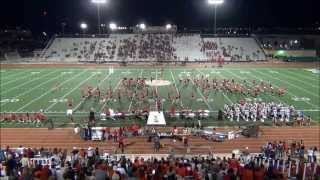 """Robert E Lee HS Marching Band 2014 - """"The Grind"""""""