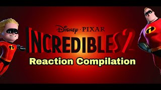 Incredibles 2 - Official Teaser Trailer - Reaction Compilation