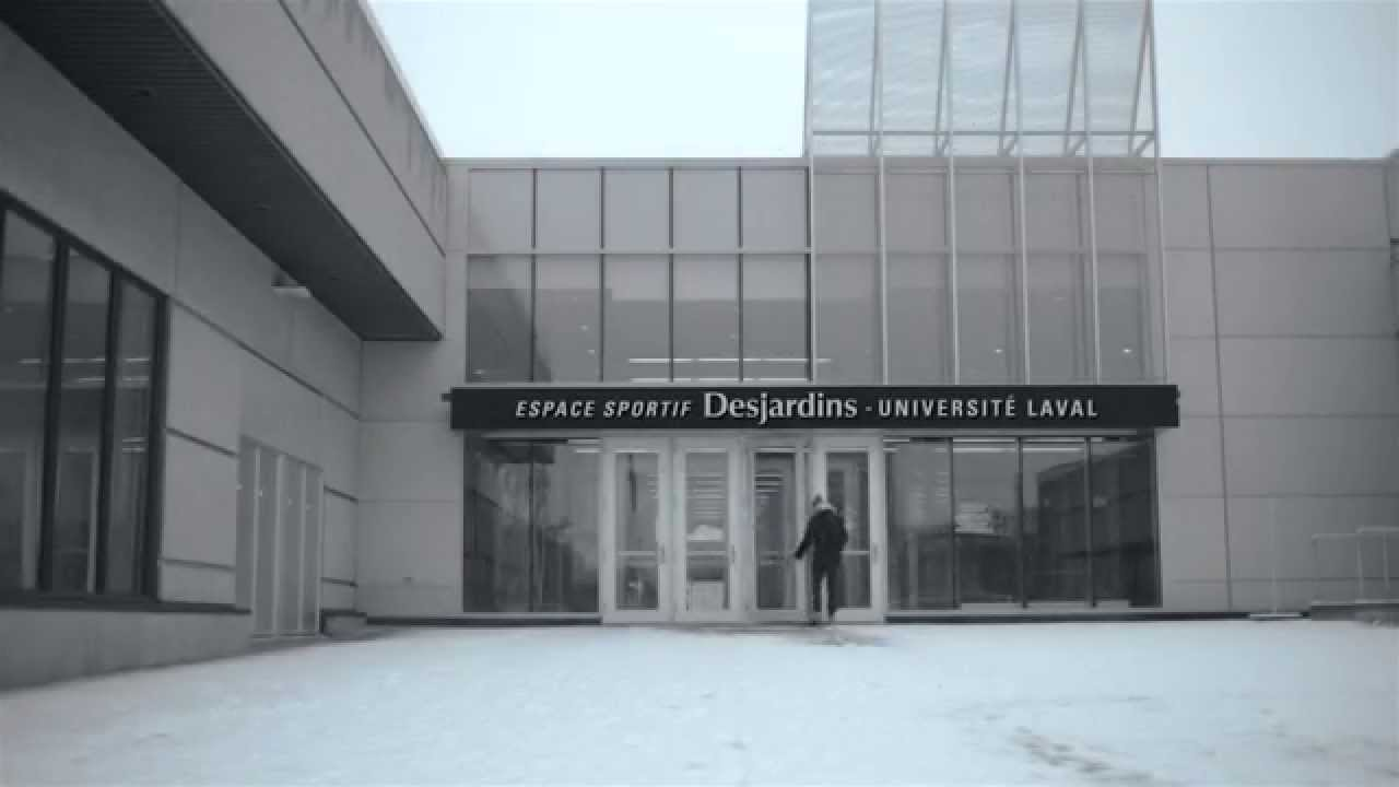 L espace sportif desjardins universit laval youtube for Piscine universite laval