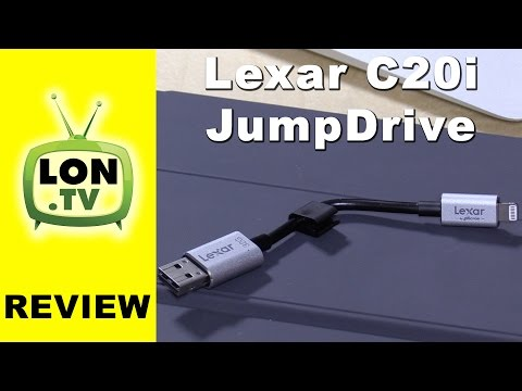 Lexar JumpDrive C20i Review for iPhone / iPad / iPod Touch - USB flash drive