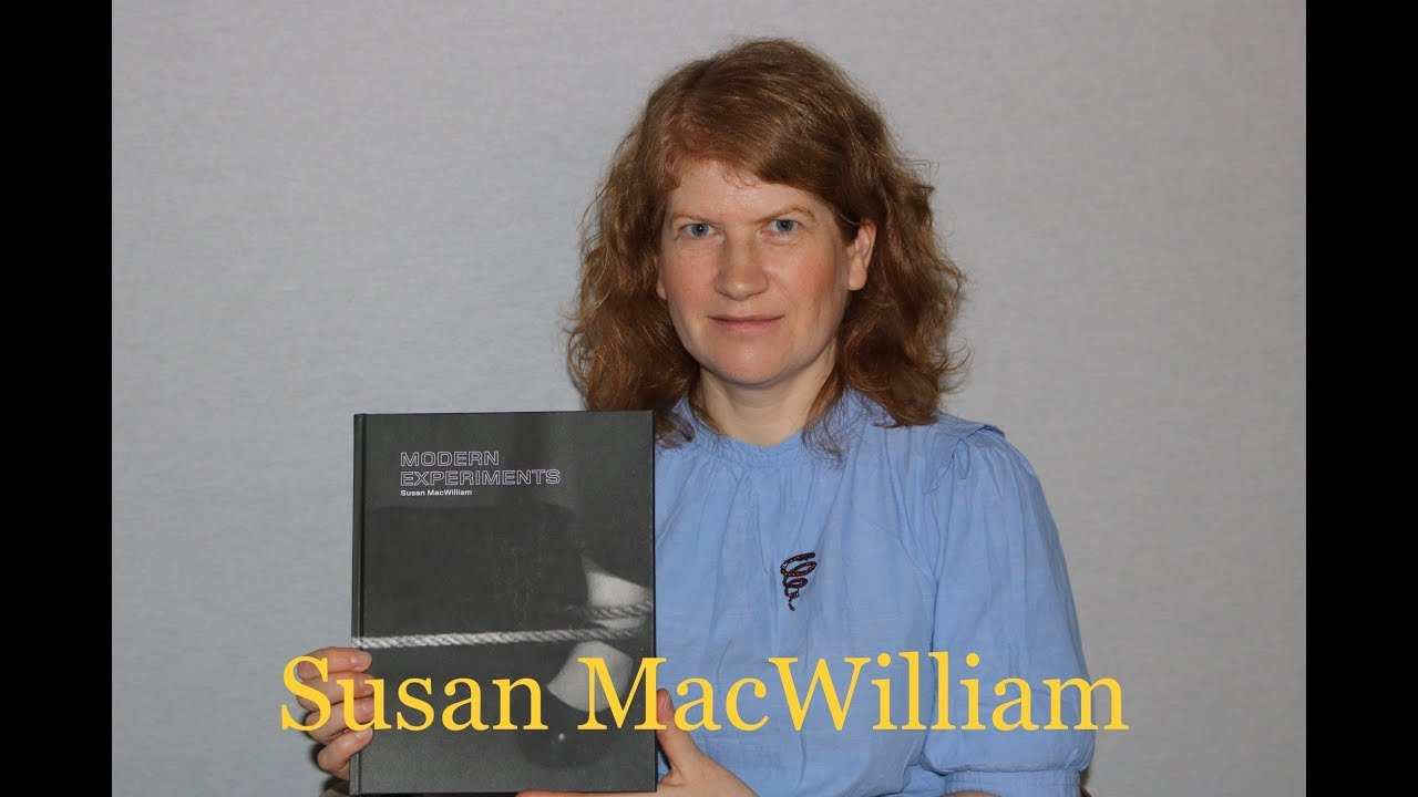 "Susan MacWilliam discussing her book ""Modern Experiments"""