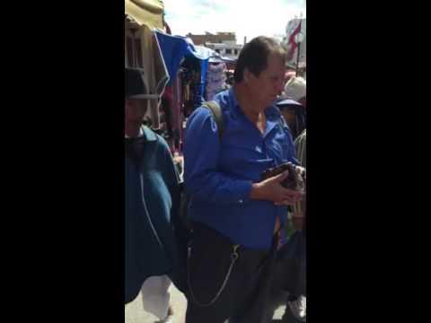 Didgeridoo Otavalo market