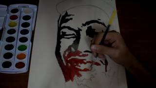 Watercolor painting   Cong Tv