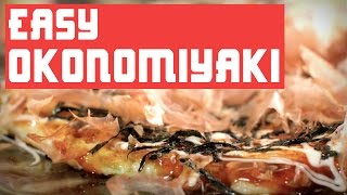 HOW  TO MAKE EASY OKONOMIYAKI