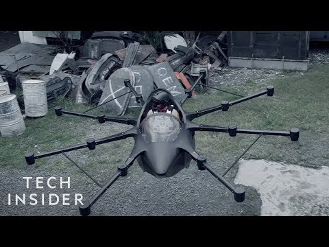 Professional Drone Builder Designs A Flying Car