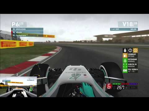 F1 2014 #4 Shanghai (China) | Coop Career xKozik Vs. Cacharraco