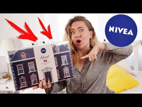 ЧТО ВНУТРИ?! Адвент-Календарь Nivea! Пижамная Распаковка и обзор
