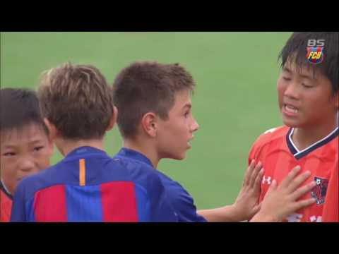 FCB Academy: A demonstration of fair play from the FC Barcelona U-14s in Japan