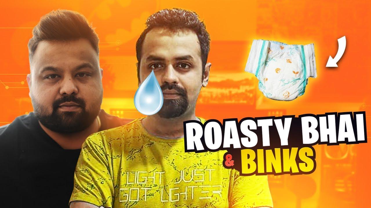 ROASTY BHAI is BACK! ft. Binks & Tbone  *EPIC 🤣* | Funny Highlights