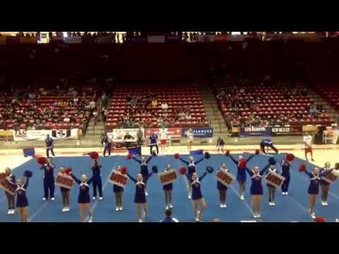2014 Las Cruces High School Cheer-State Champions-Day 1