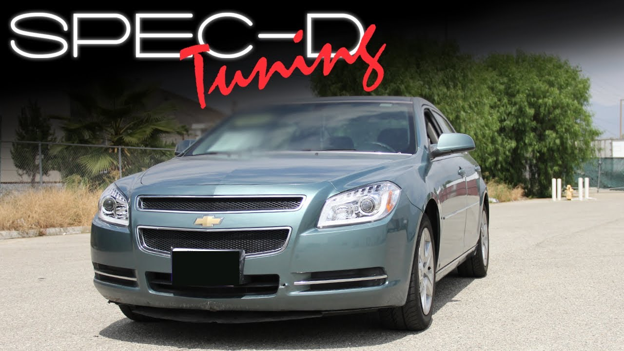 Specdtuning Installation Video 2008 2012 Chevy Malibu Projector 2005 Headlight Wire Harness Headlights