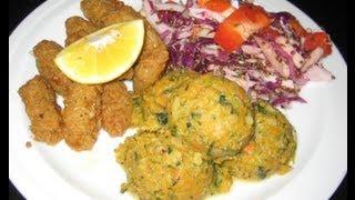 Sweet Potato Cauliflower Mashed - Quinoa Salad - Liz Kreate - Recipe