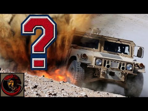 Why does the U.S. Military still use the HMMWV 'Humvee' vehi