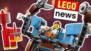 LEGO Movie 2 Sets 2019 - Emmet Mech, LEGO House Dinosaurs and LEGO Star Wars World Record