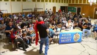 Time Warp (Rocky Horror cover), Austin Ukulele Society