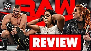 WWE RAW Review - CATCH - 11.11.19 (Wrestling Podcast Deutsch)