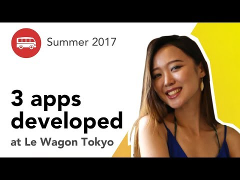 3 apps developed at Le Wagon Tokyo - Batch #78