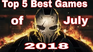 Top 5 Android Games of July 2018