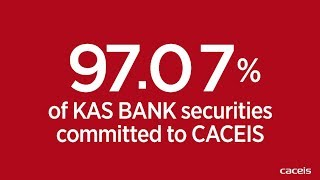 Final results of the CACEIS offer for KAS BANK: 97.07% of KAS BANK shares tendered