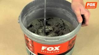 efekt: Beton - FOX DEKORATOR - film instruktażowy