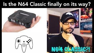 Is the N64 Classic almost upon us? New leaked screenshots! | Ro2R