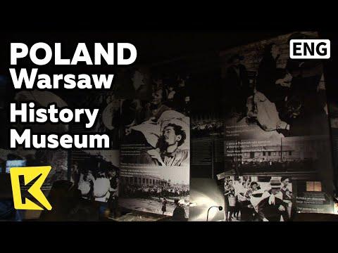 【K】Poland Travel-Warsaw[폴란드 여행-바르샤바]도시 역사박물관/History Museum/ the History of Polish Jews/Square