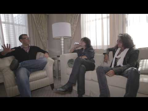 "A-Sides Interview: Alice Cooper & Joe Perry On ""Drunk Dead Friends"" & Dave Grohl (8-31-15)"