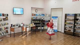 Русский народный танец в исполнении воспитанницы детского православного центра Софии Гонтар
