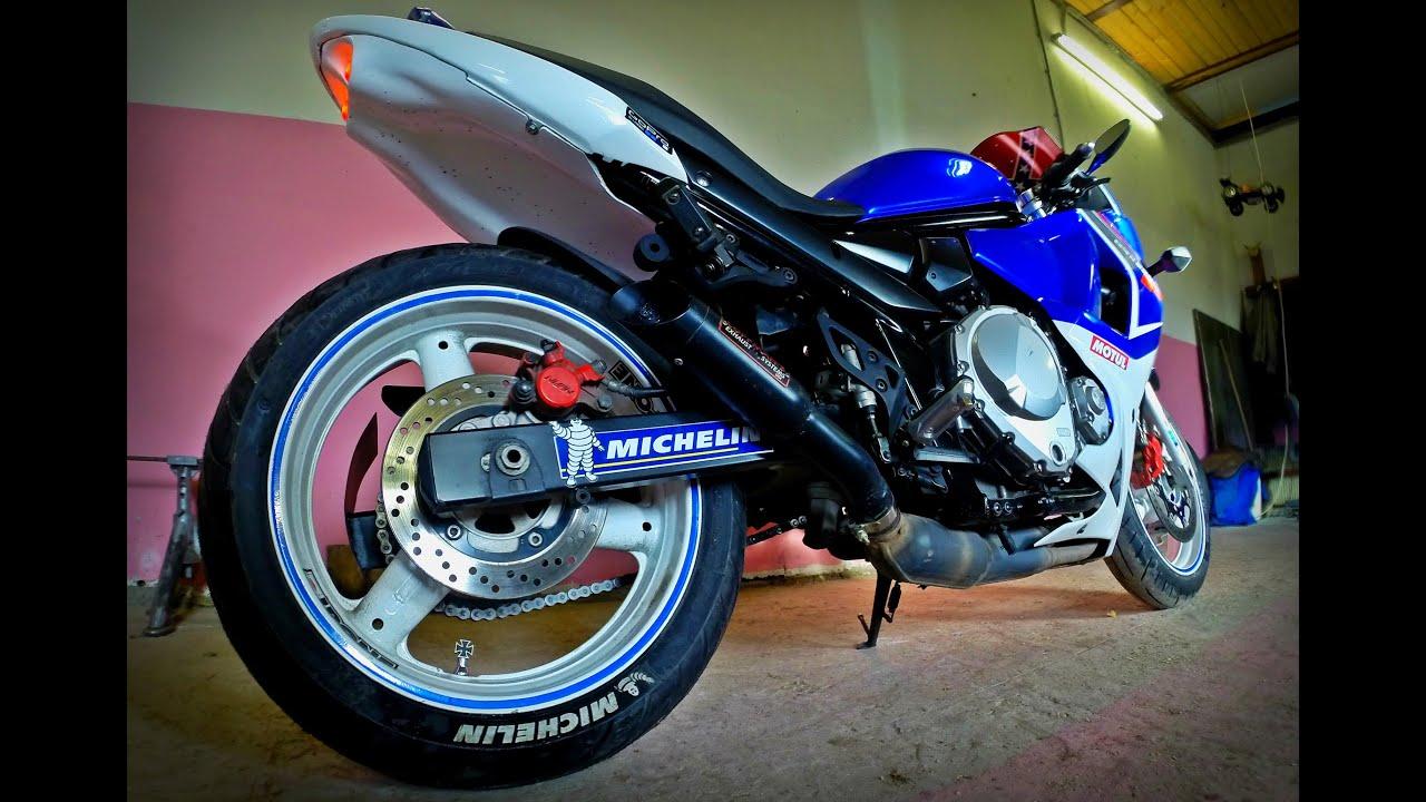 Raspizdayfamily Suzuki Gsx650f Coffman Shorty Exhaust No