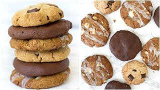3 Healthy Cookie Recipes! Easy and Yummy Healthy Dessert!