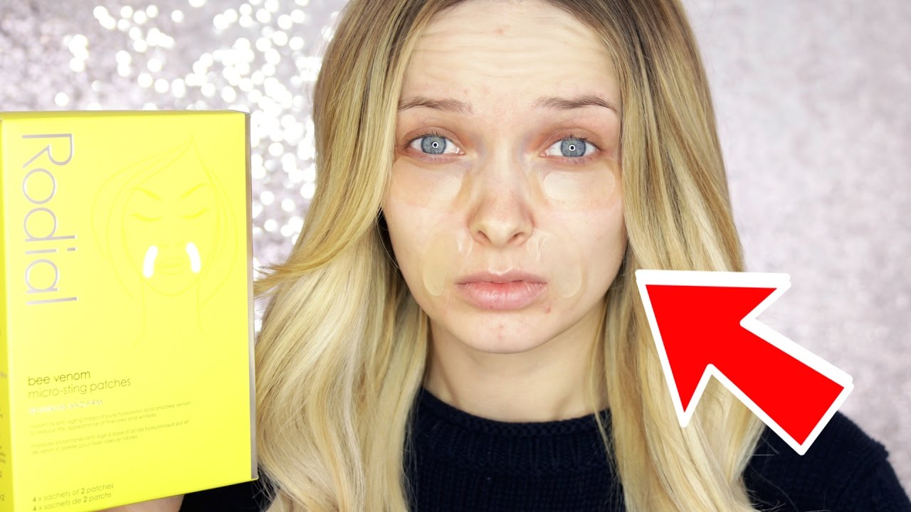 TESTING A $120 BEE VENOM FACE MASK!! // MyPaleSkin