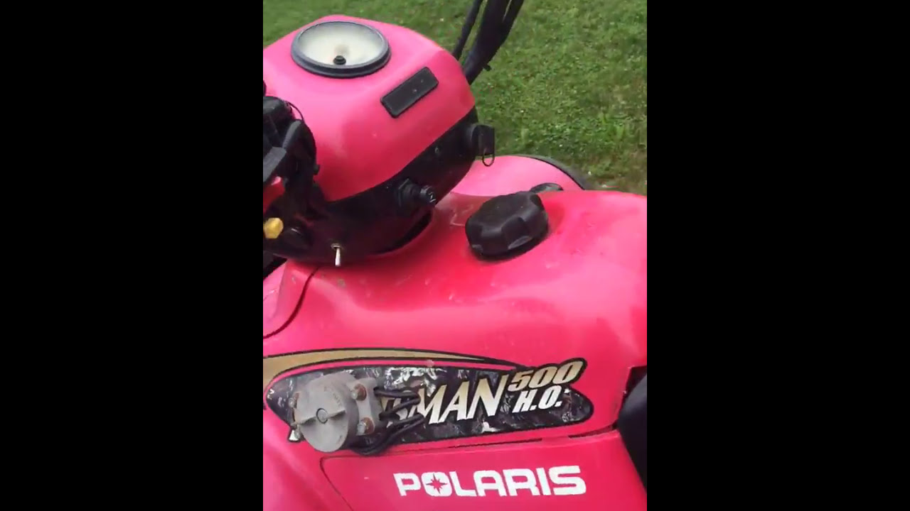 medium resolution of polaris sportsman 500 ho starter button fix