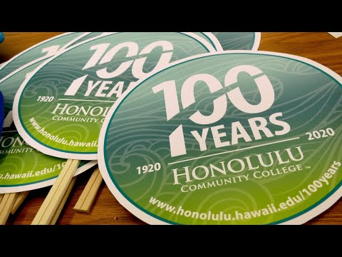 Honolulu Community College kicks off centennial celebration