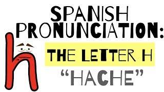 Cartoon (H) İspanyolca telaffuz - Hache -
