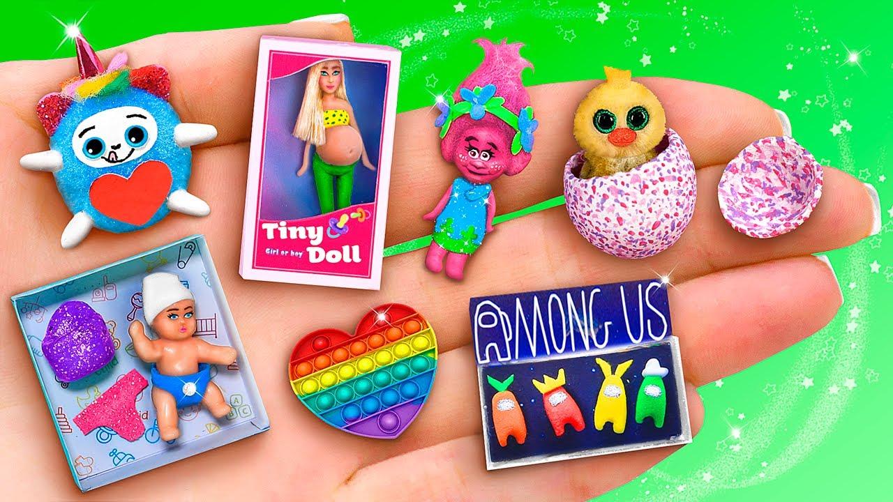 17 Juguetes y Muñecas en Miniatura para LOL OMG