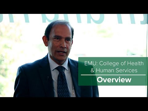 EMU: College of Health and Human Services Overview