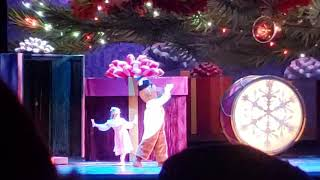 Elliana Walmsley as Clara in Radio City Christmas Spectacular