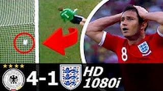 Германия 4 1 Англия Обзор матча ЧМ 2010 FullHD