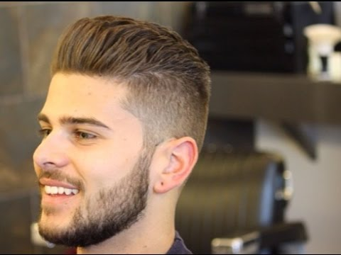 Awesome Mens Hairstyles Shaved Sides And Back