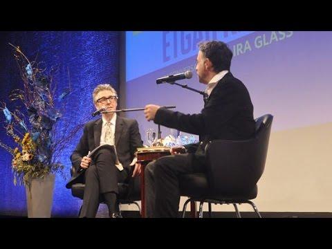 Etgar Keret & Ira Glass Conversation: 2016 Awards Ceremony