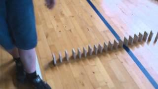 Domino på Frøstruphave Efterskole